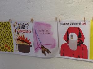 Ausstellung féminin pluriel